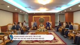 Doanh nghiệp Hàn Quốc tìm cơ hội hợp tác với Việt Nam về đo đạc bản đồ
