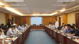 Họp Ban soạn thảo, Tổ biên tập Dự án Luật sửa đổi một số điều của Luật Bảo vệ môi trường