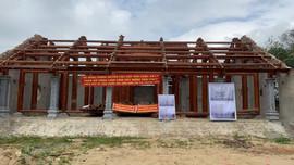 Nghệ An: Xây chùa trên đất Di tích lịch sử Quốc gia