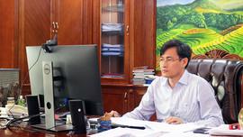 Thứ trưởng Trần Quý Kiên họp trực tuyến về tiến độ thực hiện dự án WB9
