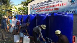 Bộ TN&MT hỗ trợ cấp nước ngọt miễn phí cho người dân huyện Châu Thành, tỉnh Bến Tre