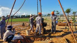 """Dự án """"Điều tra, đánh giá xác định vùng cấm, vùng hạn chế khai thác nước dưới đất từ Đà Nẵng đến Bình Thuận"""""""