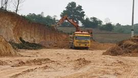 Thanh Hóa: Đề nghị xử phạt 15 triệu đồng đối với Công ty khai thác đất trái phép