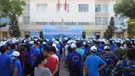 Tuổi trẻ Quân cảng Sài Gòn khu vực Vũng Tàu:  Tham gia bảo vệ môi trường, thu gom rác thải nhựa