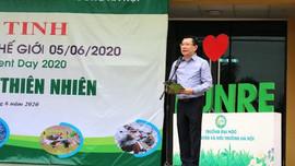 Bộ GD&ĐT tổ chức chuỗi hoạt động hưởng ứng các ngày lễ và Tháng hành động vì môi trường 2020