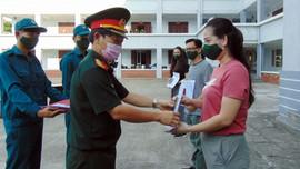 Quảng Nam: 345 công dân về từ Đài Loan vui vẻ rời khỏi khu cách ly