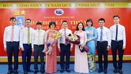 Đảng bộ Văn phòng Bộ TN&MT tổ chức thành công Đại hội lần thứ V