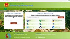 Kế hoạch quản lý, chia sẻ sử dụng dữ liệu ngành tài nguyên và môi trường