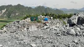 Ngọc Lặc (Thanh Hóa): Công ty Cao Minh có dấu hiệu khai thác đá ngoài mốc giới