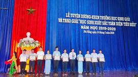 Đà Nẵng: Tuyên dương, khen thưởng 184 học sinh giỏi xuất sắc toàn diện năm học 2019 - 2020