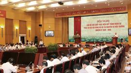 Hội nghị Cán bộ chủ chốt thực hiện quy trình nhân sự phục vụ đại hội Đảng bộ Bộ Tài nguyên và Môi trường nhiệm kỳ 2020-2025