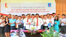 PV Power ký kết thỏa thuận hợp tác với Đại học Bách khoa Hà Nội