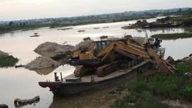 Gia Lâm (Hà Nội): Không có hộ gia đình tham gia hoạt động khai thác cát