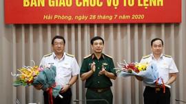 Chuẩn đô đốc Trần Thanh Nghiêm phụ trách Tư lệnh Hải quân