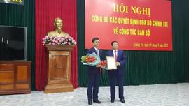 Thứ trưởng Bộ Văn hóa Thể thao và Du lịch nhận quyết định làm Bí thư Tỉnh ủy Quảng Trị