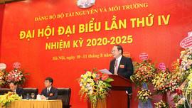Khai mạc Đại hội đại biểu lần thứ IV nhiệm kỳ 2020 - 2025 Đảng bộ Bộ Tài nguyên và Môi trường