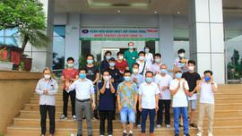 Thêm 53 bệnh nhân được công bố khỏi bệnh COVID-19, trong đó có 4 ca chạy thận nhân tạo