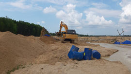 Bà Rịa – Vũng Tàu: Giám sát chặt quá trình thực hiện nạo vét lòng hồ chứa nước
