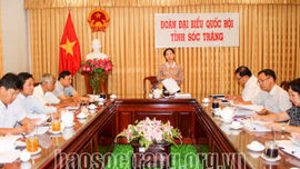 Đoàn ĐBQH tỉnh Sóc Trăng đóng góp ý kiến cho Dự thảo Luật Bảo vệ môi trường (sửa đổi)