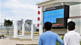 Nhiệt điện Vĩnh Tân đưa vào sử dụng Bảng điện tử thông số môi trường
