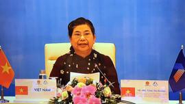Thúc đẩy vai trò của nữ nghị sĩ trong bảo đảm việc làm và thu nhập cho lao động nữ
