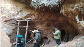 Đà Nẵng: Phát hiện 3 hầm có dấu hiệu khai thác vàng trái phép tại Khe Đương
