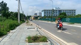Đường Sa Đôi (quận Nam Từ Liêm): Hố trồng cây xanh, vỉa hè biến thành bãi rác tự phát