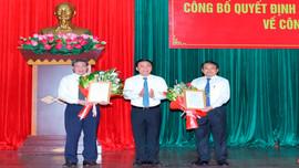 Thanh Hóa: Công bố quyết định về công tác cán bộ tại TP. Sầm Sơn và huyện Thọ Xuân