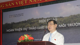 Chủ nhiệm Uỷ ban KHCN&MT của Quốc hội Phan Xuân Dũng chủ trì Hội thảo hoàn thiện Dự thảo Luật Bảo vệ Môi trường (sửa đổi)