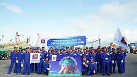 Petrolimex Bà Rịa- Vũng Tàu chung tay làm sạch môi trường biển