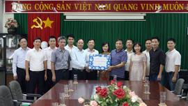 Thứ trưởng Lê Minh Ngân thăm, động viên cán bộ, nhân viên Đoàn Dịch vụ Trắc địa và Bản đồ
