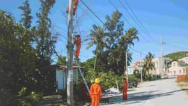 Bình Định: Hoàn thành dự án đưa điện lưới quốc gia ra xã đảo Nhơn Châu