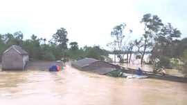 Bộ GTVT ra công điện khẩn tập trung đối phó mưa lũ và hoàn lưu bão số 6