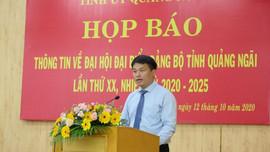 Quảng Ngãi: Không nhận hoa chúc mừng Đại hội Đảng bộ tỉnh
