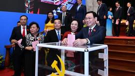Đồng chí Vương Đình Huệ tái đắc cử Bí thư Thành ủy Hà Nội