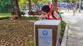 Khu vực Hồ Gươm có thêm 4 trụ nước uống miễn phí