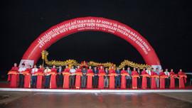 Khánh thành Trạm biến áp, đường dây 500kV kết hợp Nhà máy điện mặt trời Trung Nam Thuận Nam 450MW