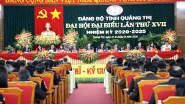 Khai mạc Đại hội Đại biểu Đảng bộ tỉnh Quảng Trị nhiệm kỳ 2020 - 2025
