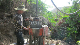 Đá granit làm ốp lát khu Suối Tiên 3 đủ cơ sở để tính trữ lượng