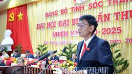 Đồng chí Lâm Văn Mẫn là tân Bí thư Tỉnh ủy Sóc Trăng