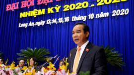 Đồng chí Nguyễn Văn Được giữ chức Bí thư Tỉnh ủy Long An