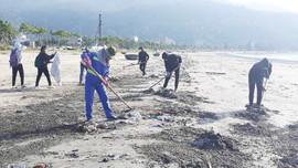 Hơn 4 ngàn tấn rác trôi dạt vào bãi biển, Đà Nẵng gồng mình dọn dẹp