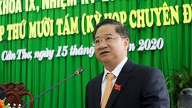 Ông Trần Việt Trường được bầu làm Chủ tịch UBND TP. Cần Thơ, nhiệm kỳ 2016-2021