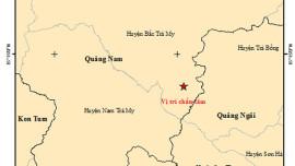 Quảng Nam: Động đất xảy ra khi thủy điện Sông Tranh 2 đang tích đầy nước