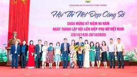 31 giải được trao tại Hội thi nét đẹp công sở Bộ TN&MT năm 2020