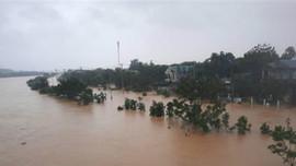 Cảnh báo lũ đặc biệt lớn trên các sông Quảng Trị
