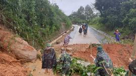 Quảng Trị: 7 người trong đội cứu hộ tại huyện miền núi Hướng Hóa gặp nạn
