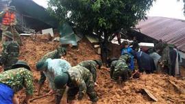 Khẩn cấp tìm kiếm 22 cán bộ, chiến sĩ Đoàn 337 bị vùi lấp ở Quảng Trị
