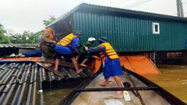 Quảng Bình: Mưa lớn diễn ra trên diện rộng, hơn 34.000 ngôi nhà ngập sâu