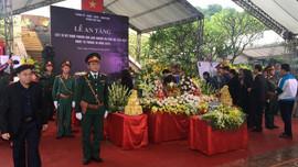 Nghệ An: Lễ an táng các liệt sĩ hy sinh tại Thủy điện Rào Trăng 3